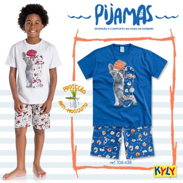 Pijamas Kyly | Estampa de Dog