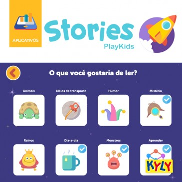 Aplicativo | PlayKids Stories